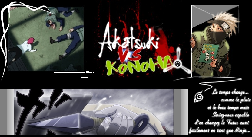 Akatsuki vs Konoha